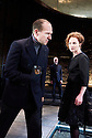 Richard III by William Shakespeare, directed by Rupert Goold . With Ralph Fiennes as Richard, Duke of Gloucester,<br /> Aislin McGuckin as Queen Elizabeth . at The Almeida Theatre on 16/6/16. CREDIT Geraint Lewis  EMBARGOED TILL 10PM THURSDAY 16/6/16