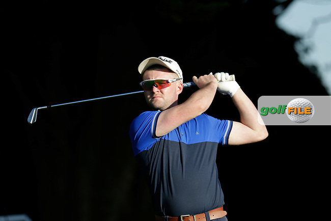 Brian McCormack (Edenderry GA) during the first round of the Irish PGA Championship, Dundalk Golf Club, Dundalk Co Louth. 01/10/2015<br /> Picture Golffile | Fran Caffrey | PGA<br /> <br /> <br /> All photo usage must carry mandatory copyright credit (&copy; Golffile | Fran Caffrey | PGA)