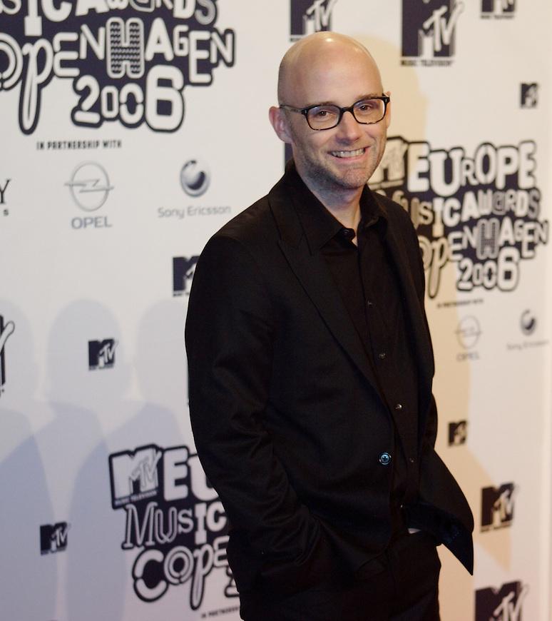 København, 20061102. MTV Europe Music Awards. Red Carpet.   Moby.