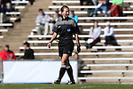 12 November 2016: Referee Danielle Chesky. The University of North Carolina Tar Heels played the Liberty University Flames at Fetzer Field in Chapel Hill, North Carolina in a 2016 NCAA Division I Women's Soccer Tournament First Round match. UNC won the game 3-0