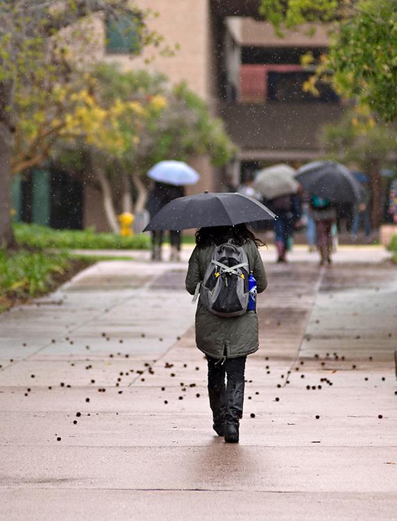 UCSB Rainy Day