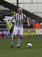 Jim Goodwin in the St Mirren v Dundee United Clydesdale Bank Scottish Premier League match played at St Mirren Park, Paisley on 27.10.12.