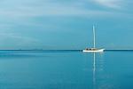 Still morning on Nadi Bay, Fiji Islands