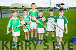 Enjoying the Hurling and Camogie Cul Camps at BALLYDUFF GAA on Tuesday were l-r  Sarah Slattery, JJ O'Rourke, Aaron McCabe, Jake Siegel, Callum Carey and Jeremiah Murphy