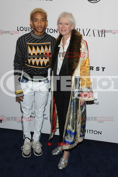 NEW YORK, NY - NOVEMBER 30: Jaden Smith and Joanna Coles at the Lincoln Center Corporate Fund Gala at Alice Tully Hall in New York City on November 30, 2017. Credit: John Palmer/MediaPunch NortePhoto.com. NORTEPHOTOMEXICO