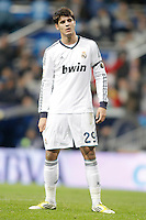 Real Madrid's Alvaro Morata dejected during La Liga match. December 16, 2012. (ALTERPHOTOS/Alvaro Hernandez)