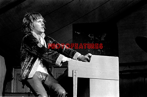 The Nice 1969 Keith Emerson at Bath Festival<br /> © Chris Walter