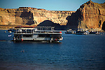 Vacationers enjoy their stay on Lake Powell