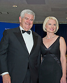 Former Speaker of the United States House of Representatives Newt Gingrich (Republican of Georgia) and his wife, Callista arrives for the 2016 White House Correspondents Association Annual Dinner at the Washington Hilton Hotel on Saturday, April 30, 2016.<br /> Credit: Ron Sachs / CNP<br /> (RESTRICTION: NO New York or New Jersey Newspapers or newspapers within a 75 mile radius of New York City)