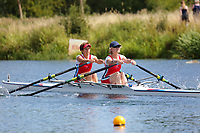 Race: 58  W.MasE/F.2x  Final<br /> <br /> Peterborough Summer Regatta 2018 - Saturday<br /> <br /> To purchase this photo, or to see pricing information for Prints and Downloads, click the blue 'Add to Cart' button at the top-right of the page.