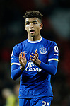 Mason Holgate of Everton during the English Premier League match at Old Trafford Stadium, Manchester. Picture date: April 4th 2017. Pic credit should read: Simon Bellis/Sportimage