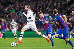 VfL Borussia Monchengladbach's Cristoph Kramer, FC Barcelona's Denis Suarez during Champions League match between Futbol Club Barcelona and VfL Borussia Mönchengladbach  at Camp Nou Stadium in Barcelona , Spain. December 06, 2016. (ALTERPHOTOS/Rodrigo Jimenez)