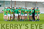 The Lixnaw teams after the Senior County Hurling Final in Austin Stack Park on Sunday