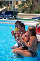 EGY, Aegypten, Hurghada: Coral Beach Hotel, Pool | EGY, Egypt, Hurghada: Coral Beach Hotel, Pool