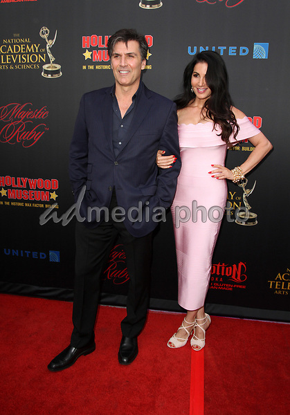 26 April 2017 - Los Angeles, California - Vincent Irizarry and Donna Petracca. Daytime Emmy Awards Nominee Reception held at The Hollywood Museum in the world famous Max Factor Building. Photo Credit: AdMedia
