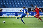 Tor zum 4:0: Torschuetze Christoph Baumgartner (Hoffenheim) trifft.<br /> <br /> Sport: Fussball: 1. Bundesliga: Saison 19/20: 33. Spieltag: TSG 1899 Hoffenheim - 1. FC Union Berlin, 20.06.2020<br /> <br /> Foto: Markus Gilliar/GES/POOL/PIX-Sportfotos<br /> <br /> Foto © PIX-Sportfotos *** Foto ist honorarpflichtig! *** Auf Anfrage in hoeherer Qualitaet/Aufloesung. Belegexemplar erbeten. Veroeffentlichung ausschliesslich fuer journalistisch-publizistische Zwecke. For editorial use only. DFL regulations prohibit any use of photographs as image sequences and/or quasi-video.