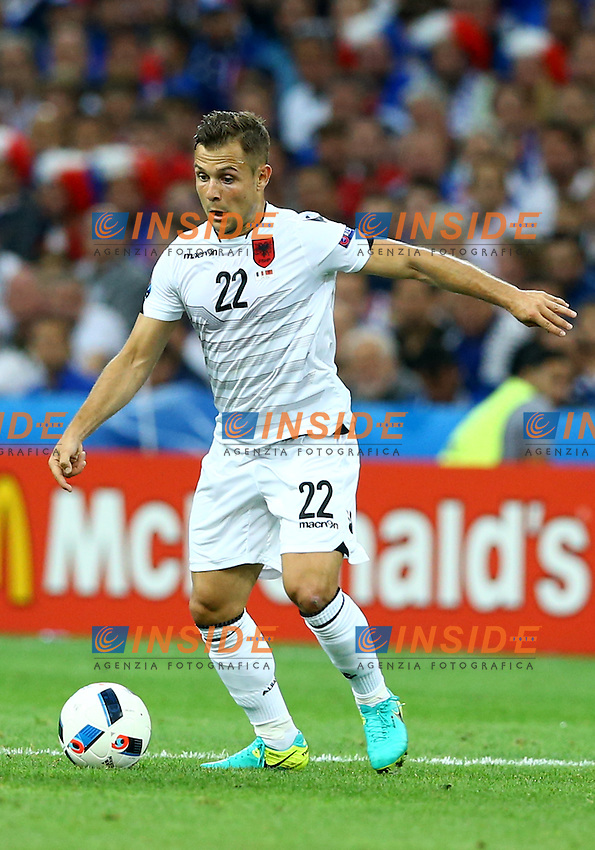 Amir Abrashi Marseille 15-06-2016 Stade Velodrome Footballl Euro2016 France - Albania / Francia - Albania Group Stage Group A. Foto Matteo Ciambelli / Insidefoto