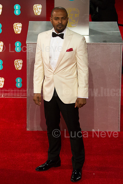 Noel Clarke.<br /> <br /> London, 12/02/2017. Red Carpet of the 2017 EE BAFTA (British Academy of Film and Television Arts) Awards Ceremony, held at the Royal Albert Hall in London.<br /> <br /> For more information please click here: http://www.bafta.org/