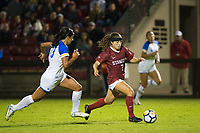 STANFORD, CA - September 27, 2018: Jaye Boissiere at Stanford Stadium. The Stanford Cardinal defeated the UCLA Bruins, 3-2.