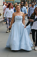 www.acepixs.com<br /> <br /> June 7 2017, New York City<br /> <br /> Actress Hilary Duff wears a ball gown on the set of the TV show 'Younger' on June 7 2017 in New York City<br /> <br /> By Line: Zelig Shaul/ACE Pictures<br /> <br /> <br /> ACE Pictures Inc<br /> Tel: 6467670430<br /> Email: info@acepixs.com<br /> www.acepixs.com