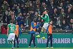 08.03.2019, Weser Stadion, Bremen, GER, 1.FBL, Werder Bremen vs FC Schalke 04, <br /> <br /> DFL REGULATIONS PROHIBIT ANY USE OF PHOTOGRAPHS AS IMAGE SEQUENCES AND/OR QUASI-VIDEO.<br /> <br />  im Bild<br /> <br /> jubel 1:1 'Milot Rashica (Werder Bremen #11)<br /> <br /> Foto &copy; nordphoto / Kokenge