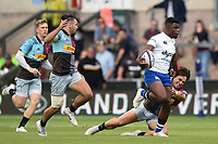 Levi Davis of Bath Rugby. Premiership Rugby 7s (Day 2) on July 28, 2018 at Franklin's Gardens in Northampton, England. Photo by: Patrick Khachfe / Onside Images
