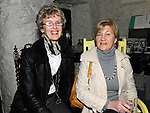 Rosemary Higgins and Patricia Geoghegan pictured at Mary Brennan's Silversmith workshop and gallery at Old Coach road Dunleer. Photo: Colin Bell/pressphotos.ie