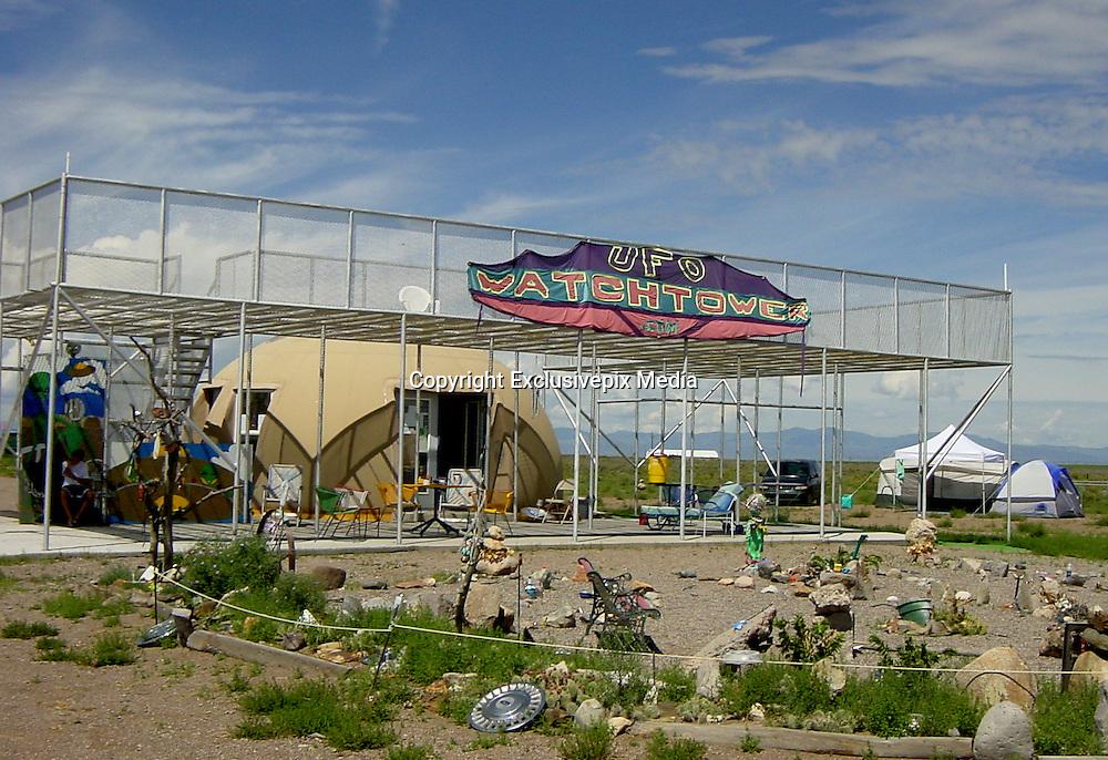 The UFO Watchtower in Hooper, Colorado | Nick york