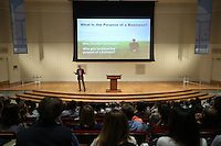 Whole Foods co-president Jack Mackey was a guest speaker for the Darden School of Business March 22, 2016 at the University of Virginia in Charlottesville, Va. Photo/Andrew Shurtleff