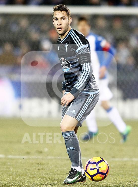 Celta de Vigo's Hugo Mallo during La Liga match. January 28,2017. (ALTERPHOTOS/Acero)