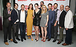 Jon DeVries, Alex Hurt, Norbert Leo Butz, Dolly Wells, Grace Van Patten, Zosia Mamet, Hamish Linklater, Noah Bean, Jonny Orsini, Scott Elliott and Adam Bernstein attends the World Premiere of Hamish Linklater's 'The Whirligig' at Green Fig's Social Drink and Food Club Terrace on May 21, 2017 in New York City.