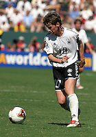 Bettina Wiegmann, Germany 2-1 over Sweden at the  WWC 2003 Championships.