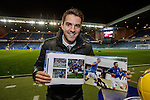 Andy Little back at Ibrox tonight with the new Rangers book and the first goal scored on the Journey away to Brechin