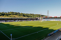 General view of Adams Park ahead of the Friendly match between Wycombe Wanderers and Brentford at Adams Park, High Wycombe, England on 19 July 2016. Photo by David Horn PRiME Media Images.