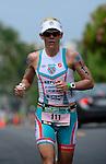 KAILUA-KONA, HI - OCTOBER 12:  Mirinda Carfrae of Australia competes in the run portion during the 2013 Ironman World Championship on October 12, 2013 in Kailua-Kona, Hawaii. (Photo by Donald Miralle) *** Local Caption ***