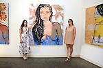 SANTA MONICA - JUN 25: Bella Nelson, Madison McRonald at the David Bromley LA Women Art Exhibition opening reception at the Andrew Weiss Gallery on June 25, 2016 in Santa Monica, California