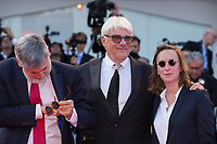 Celine Sciamma, Ricky Tognazzi, John, Landis at the Downsizing premiere and Opening Ceremony, 74th Venice Film Festival in Italy on 30 August 2017.<br /> <br /> Photo: Kristina Afanasyeva/Featureflash/SilverHub<br /> 0208 004 5359<br /> sales@silverhubmedia.com