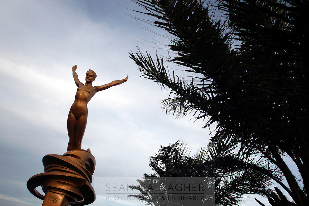 A statue in the city of Zhanjiang, Guangdong Province.. 2010