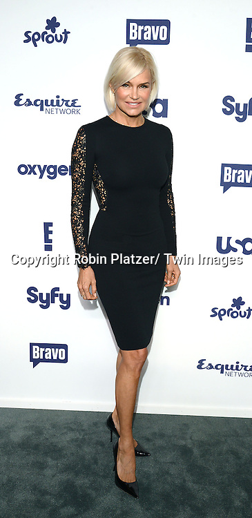 Yolanda Foster attends the NBCUniversal Cable Entertainment Upfront <br /> on May 15, 2014 at The Javits Center North Hall in New York City, New York, USA.