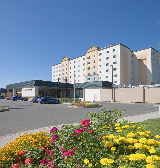 Westmark Hotel, downtown Fairbanks, Alaska