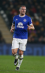 Phil Jagielka of Everton during the English Premier League match at the KCOM Stadium, Kingston Upon Hull. Picture date: December 30th, 2016. Pic Simon Bellis/Sportimage