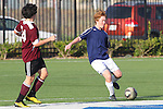 El Segundo, CA 02/04/10 - \t24\ and Phil Plank (El Segundo#2) in action during the El Segundo - Torrance league game, El Segundo defeated Torrance with a late minute goal in the second overtime period.