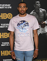 "08 May 2019 - Los Angeles, California - Talen Horton Tucker. ""What's My Name: Muhammad Ali"" HBO Premiere held at Regal Cinemas LA LIVE 14. Photo Credit: Billy Bennight/AdMedia"