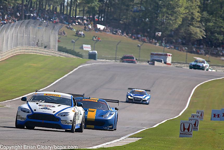 Nick Esayian, #34 Aston Martin, Pirelli World Challenge, Barber Motorsports Park, Leeds, Alabama, April 2014(Photo by Brian Cleary/www.bcpix.com)