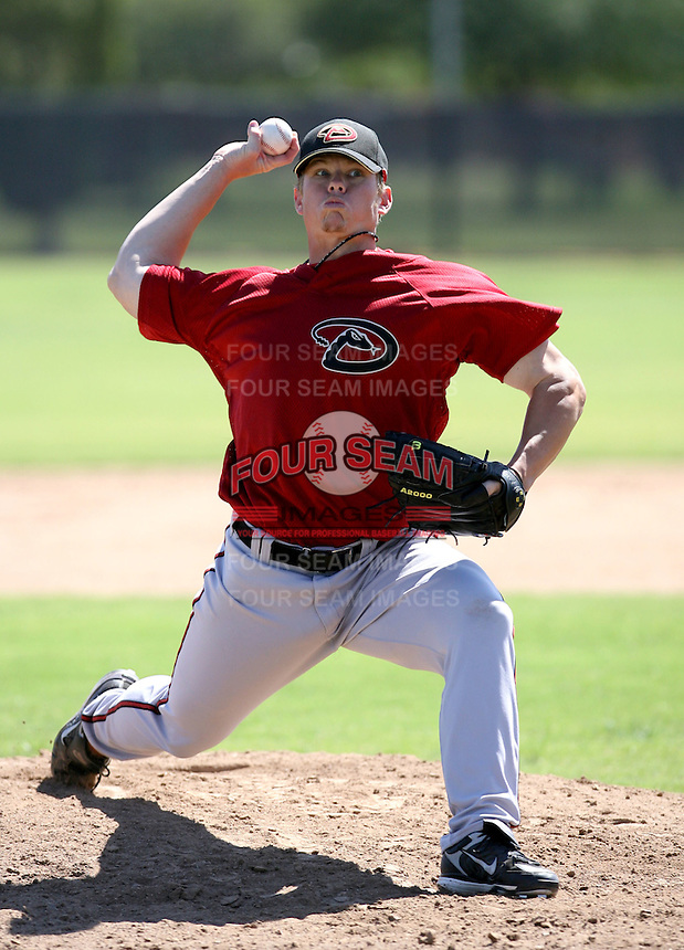 Trevor Harden / Arizona Diamondbacks 2008 Instructional League..Photo by:  Bill Mitchell/Four Seam Images
