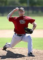 Trevor Harden / Arizona Diamondbacks 2008 Instructional League..Photo by:  Bill Mitchell/Four Seam Images