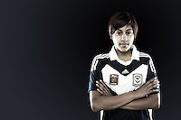 Tiffany Eliadis is an inventive attacking midfielder who plays for Melbourne Victory in the W-League. Although her natural position is through the middle, she can play on the wings or up forward, making her a versatile weapon in the Victory arsenal. //  The 17 year old appeared for South Melbourne WSC early on in the Victorian state leagues, but spent most of the 2012 season with the NTC team. //  (Copyright Photo Sydney Low. Text Zee Ko)