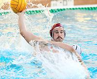 STANFORD, CA - November 26, 2010: Jeffrey Schwimer in Men's  water polo game, Stanford against UC-Irvine (MPSF Tournament). Stanford won 8-7.