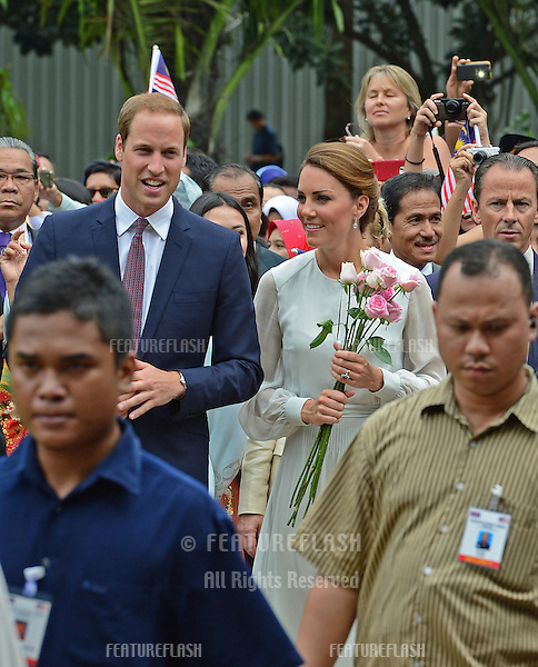 Catherine, Duchess of Cambridge and Prince William visit Kuala Lumpur Centre Park, Kuala Lumpur, Malaysia.  September 14, 2012..Picture: Catchlight Media / Featureflash