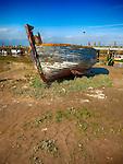 Old Boat, Rye Harbour, East Sussex, UK